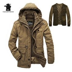 101.49$  Buy now - http://alio8u.worldwells.pw/go.php?t=32791794947 - High Quality Brand Casual Cotton Lined Jacket Thickening New Fashion Winter Jacket Men Free Warm  Coat Parkas C16E1358