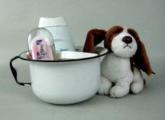 Enamel Chamber Pot, Enamel Potty, Child's Chamber Pot