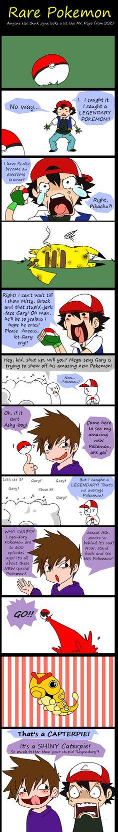 PKMN: Rare Pokemon by =AKUMA-Y0RU
