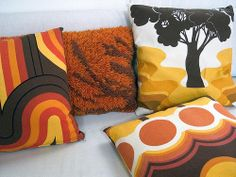 70s pillows
