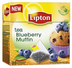 The delicate blend of the finest black tea with real pieces of blueberry fruit and muffin cake flavouring. It really does taste like high tea on a summers day. Lipton Tea Bags, Lipton Ice Tea, Gourmet Recipes, Snack Recipes, Blueberry Fruit, Tea Brands, Fruit Tea, Strawberry Cupcakes, My Tea