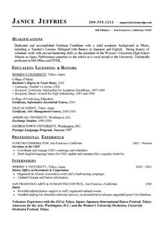 music major resume example sample of resumejob