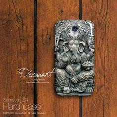 Ganesha Samsung galaxy S3 case Samsung galaxy S4 case by Decouart, $24.99