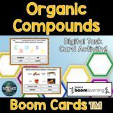 Organic Compounds Task Cards - Digital Boom Cards