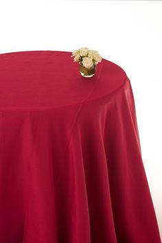 Cranberry moire round table cloths  #cranberry round cloths #table linen hire #table cloths  www.decorit.com.au