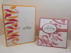 Mena Green - Stampin' Up! Demonstrator - creating and making stamping projects personally yours. Stampin' Up! cards and class projects. Making Greeting Cards, Greeting Cards Handmade, Card Making Inspiration, Making Ideas, Small Cards, Stamping Up Cards, Stamp Making, Love Cards, Homemade Cards