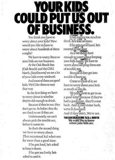 early 1970's ad