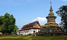 Wat That, Luang Prabang, Laos
