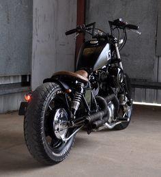 FmxAustralia.Com: For Sale: 91 Yamaha XV1100 Murdered Out Custom Bobber