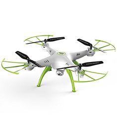 Syma X5HW-I FPV 2.4Ghz 4CH RC sin cabeza Quadcopter Drone con cámara HD Wifi, función de Hover - paquete de 2 baterías - http://www.midronepro.com/producto/syma-x5hw-i-fpv-2-4ghz-4ch-rc-sin-cabeza-quadcopter-drone-con-camara-hd-wifi-funcion-de-hover-paquete-de-2-baterias/