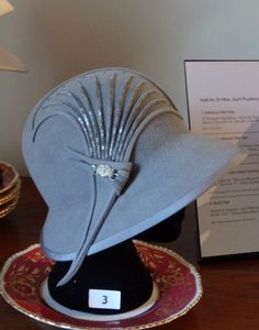 Phryne Fisher's Cloche Hat ~ Miss Fisher's Murder Mysteries
