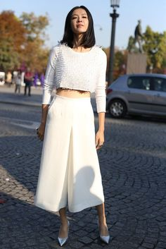 Culotte Pants #street #style