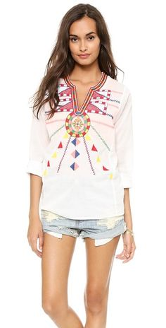 Christophe Sauvat Collection Tulum Cover Up Top | SHOPBOP