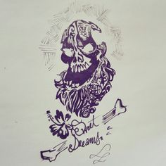 Instagram : @100daysofsketching  Skull quick practice
