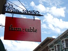 farm:table- An awesome place to eat unique food in San Francisco.