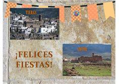 Estamosss de puenteee!Felices fiestas a dos de los municipios de nuestra comarca.Estamos abiertos todos los días!