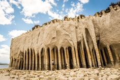 Crowley Lake Columns, Eastern California