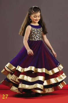 INDIAN FASHION # Kids designer ethnic wear ..Dress your kids this festive season in these beautiful and super awesome dresses .Raise their confidence level and save your previous money by grabbing these best quality dresses at fair reasonable prices .For more details Contact Anjali Designer wear