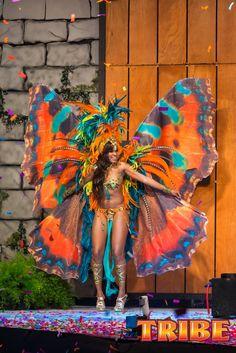 TRIBE BUTTERFLIES 2013- Trinidad Carnival #TeamTrini #I4TANDT