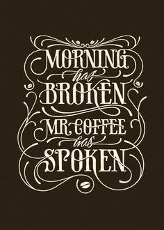 Morning has broken by Simon Lander