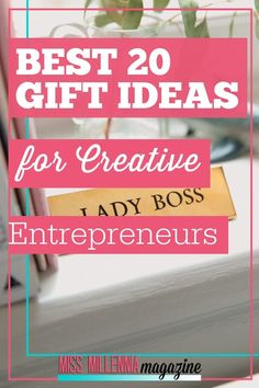 Looking for gift ideas for entrepreneurs in your life? This list contains the perfect igft ideas for any entrepreneur. Check it out! Successful Home Business, Business Gifts, Creative Business, Online Business, Business Ideas, Holiday Gift Guide, Holiday Gifts, Christmas Gifts, Holiday Fun