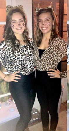 After the fact I know but fun and easy Halloween costume high-  sc 1 st  Pinterest & Meow! Cheetah Halloween Costume Accessories | Fashion Cats ...