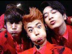 Aegyo 2PM #Junho #Wooyoung #Chansung 6 beautiful days concert