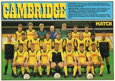 Cambridge United Fc, Football Team Pictures, Football Cards, Nostalgia, England, The Unit, Sport, Soccer Cards, Deporte