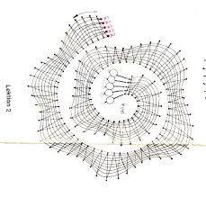 """Résultat de recherche d'images pour """"picados de flores de bolillos gratis"""" Bobbin Lace Patterns, Dot Painting, Diagram, Corner, Lace Flowers, Bobbin Lace, Rolodex, Pink, Lace Collar"""