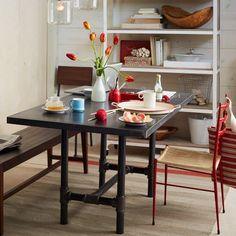 Design Workshop Metal Top Table | west elm