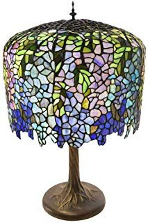 River Of Goods 30 25 Tiffany Style Grand Wisteria Table Lamp With