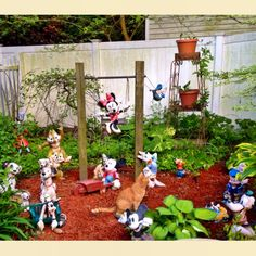 Disney garden!