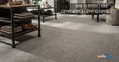 After getting your carpets cleaned it is important to protect your carpets from getting very dirty. Here are some steps you can take to protect your carpet