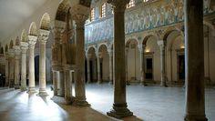 basilica di sant'apollinare nuovo interno - Cerca con Google