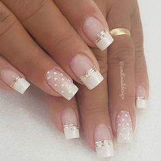 100 Beautiful wedding nail art ideas for your big day - wedding nails bride nails nail art romantic nails pink nails nails 100 Beautiful wedding nail art ideas for your big day Nail Art Games, Nail Art Kit, Bride Nails, Wedding Nails For Bride, Nail Wedding, Polish Wedding, Romantic Nails, Nail Art Pictures, Art Pics