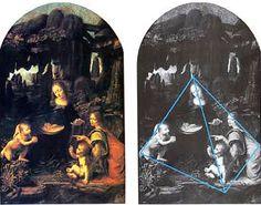 Леонардо да Винчи.«Мадонна в скалах» — произведение, знаменующее наступление Высокого Возрождения - поры высшего подъема итальянского искусства. Основные принципы Высокого Ренессанса сформулированы в творчестве Леонардо. Художник уже не просто стремится следовать природе «душой и глазами» — принцип мастеров XV столетия, но выбирает из окружающего мира то, что является наиболее существенным, отметая все случайное и второстепенное, обобщая увиденное