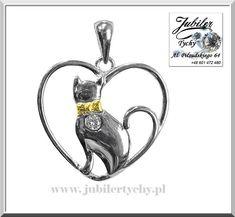 Srebrny wisiorek 🐈 kot 🐱 w sercu ❤️ z cyrkonią 💎🛍🛒🎁 #srebrny #kot #serce #wisiorek #kotek #silver #cat #kitten #heart #srebro #serduszko #srebrne #serduszka #koty #cyrkonia #wisiorki #kota #zawieszka #serca #jubilertychy #jubiler #tychy #jeweller #tyski #złotnik ➡ www.jubilertychy.pl/promocje 💎 Bottle Opener, Personalized Items