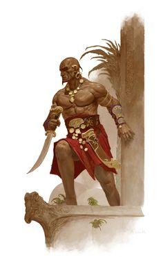 Shevatas. Conan Hyborian Quests.