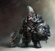 Image result for dwarves with spike hair