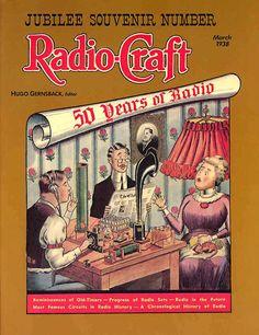 Jubilee Souvenir Number, March 1938, Radio-Craft magazine