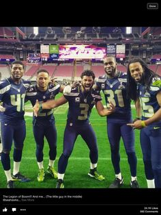 The Crew!!! Go Hawks!!! #weare12 #Seahawks | Follow me on Pinterest (dubstepgamer5) for more pins like this.