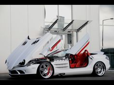 Brabus MercedesBenz SLR McLaren Roadster and Brabus smart