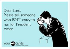 Yes, please! And let them be elected!
