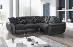 The Shannon corner sofa is extremely comfortable is beautifully designed #sofaenvy #newproducts