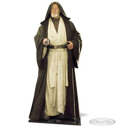 Star Wars Pappaufsteller Obi-Wan Kenobi Hier bei www.closeup.de