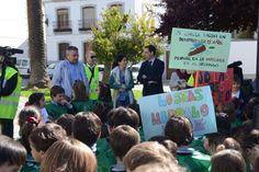 Concienciación de la limpieza a cargo de los más pequeños en Pozoblanco