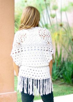CROCHET SUMMER CARDIGAN | Crochet For Beginners!!! One day I will be skilled enough to make this.