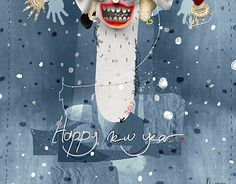 """Check out new work on my @Behance portfolio: """"new year"""" http://be.net/gallery/46689587/new-year"""