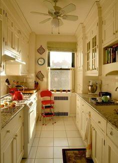 11 Gorgeous Galley Kitchens