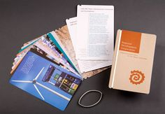 Brochure with interchangeable pages for Regional Development Corporation, Santa Fe, New Mexico